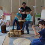 Trommeln für Kinder und Eltern